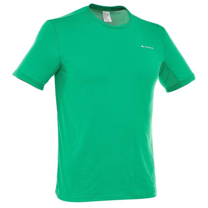 Дышащая футболка хорошо впитывает влагу и ее отводит, сохраняет тепло. Вашу спину не продует, когда вы снимите рюкзак