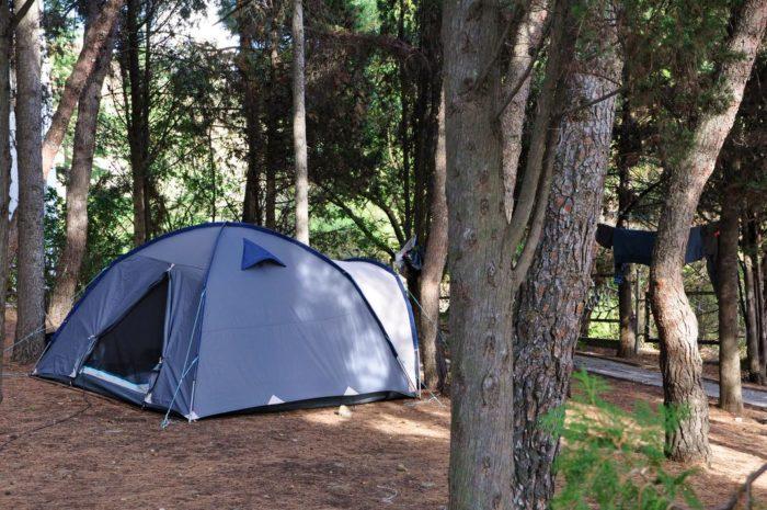 Кемпинг с палаткой У Джокера