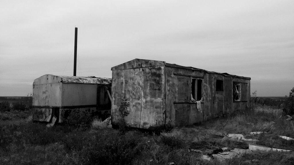 Здесь жили люди. Брошеный и забытый Ямал. Харвута Хадуттэ