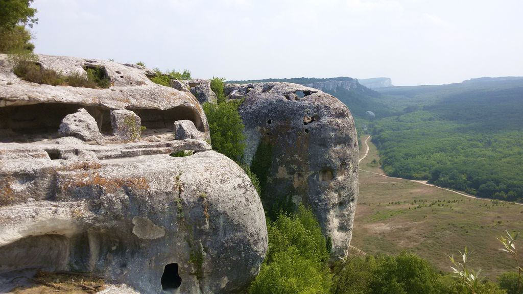 Эски Кермен. Крым. Бюджетные путешествия