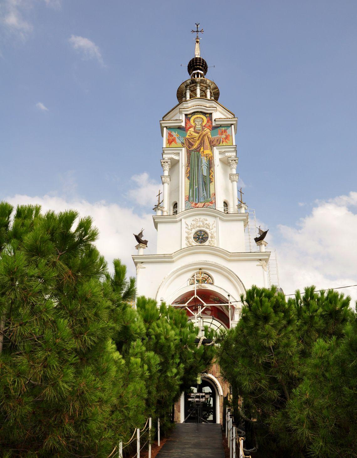 Храм Святителя Николая. Малореченское