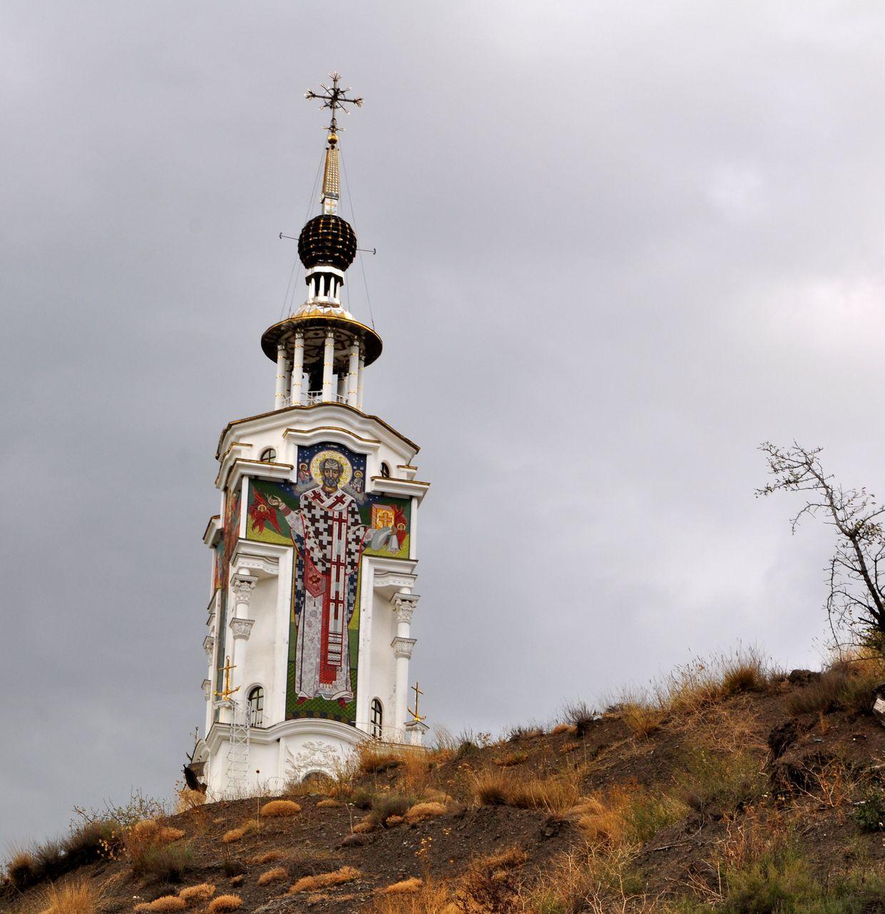 Храм Святителя Николая в Мароченском. Крым
