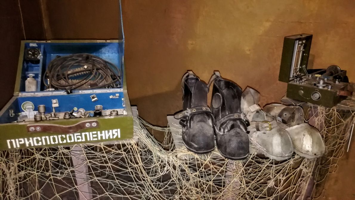 Приспособления. Музей катастроф на водах, Крым