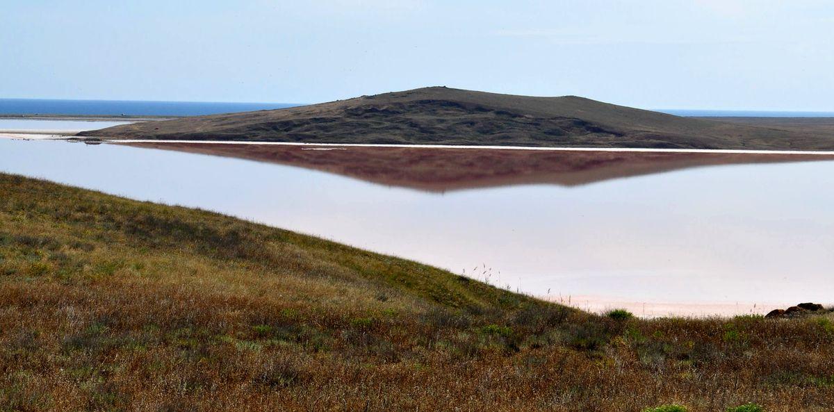 Розовое озеро (Кояшское)