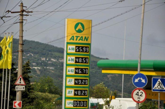 Сколько стоит отдохнуть в Крыму. Бензин в Крыму