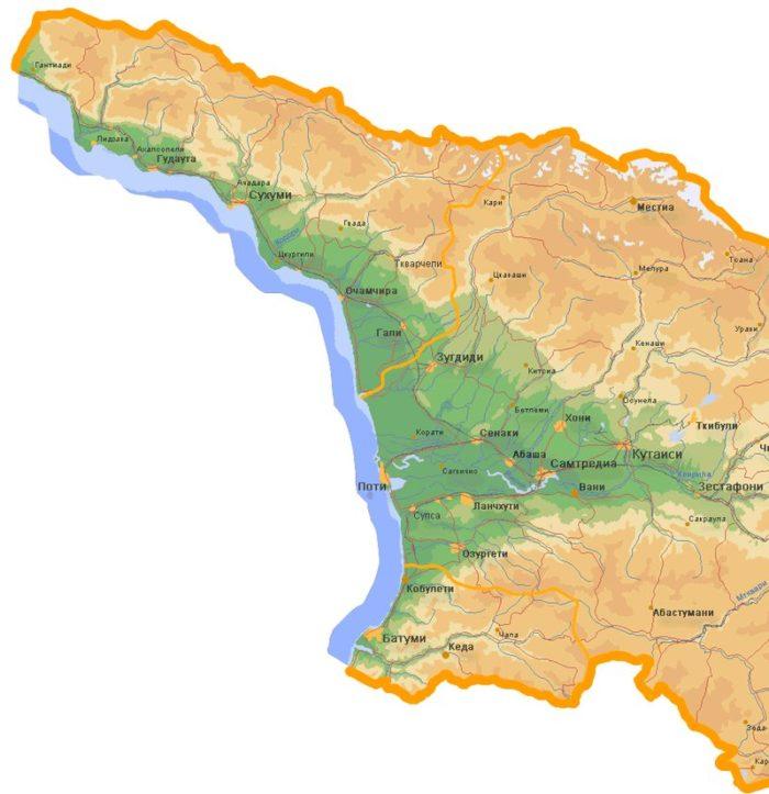 Климат в Грузии. В Крым или Грузию? Сравнение кемпингов, климата и цен