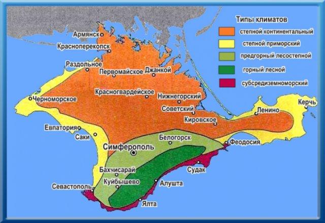 Климат Крыма. В Крым или Грузию отдыхать с палаткой. Сравнение мест