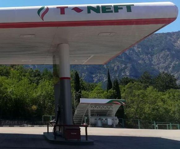 Бензин в Крыму на заправках Татнефть, ТАНЭКО
